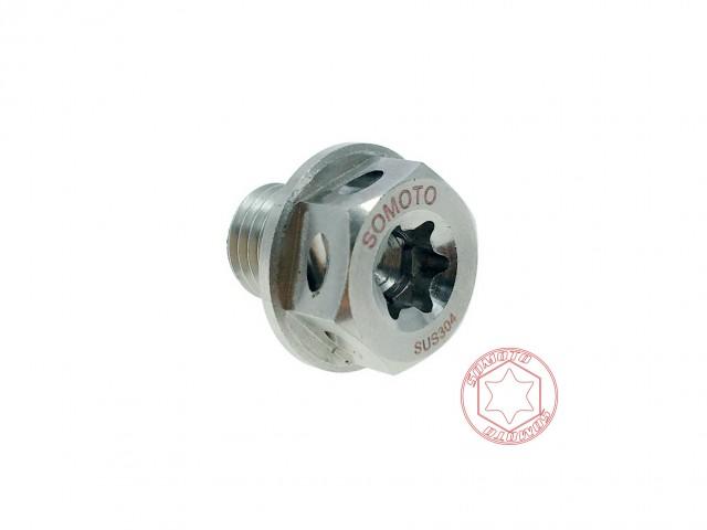 DRG FNX 白鐵強力磁石齒輪油洩油螺絲