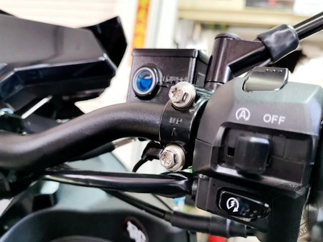 DRG煞車總泵座白鐵螺絲組(左右)