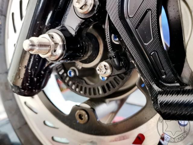 DRG-ABS感應座固定白鐵螺絲組