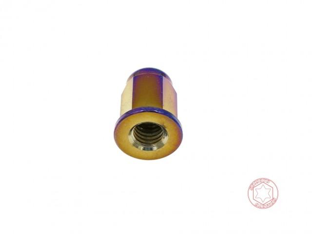 鍍燒鈦缸頭螺帽 M8x20/白鐵螺絲/不鏽鋼螺絲