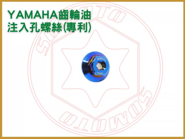 YAMAHA齒輪油注入孔螺絲(專利)-機油孔螺絲/機油螺絲尺寸/機油螺絲大小/光陽機油螺絲尺寸