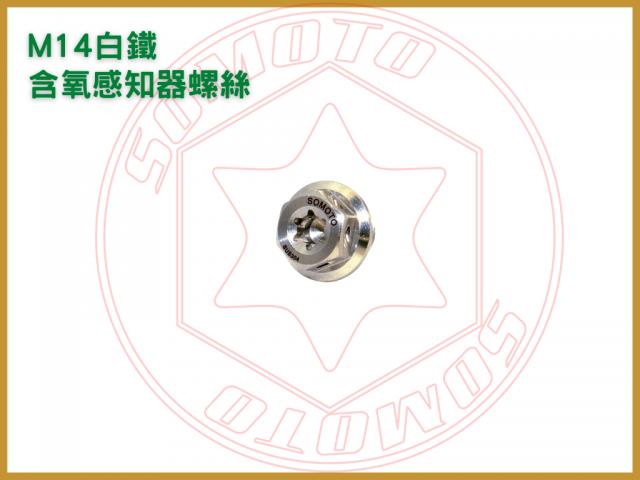 M14白鐵含氧感知器螺絲