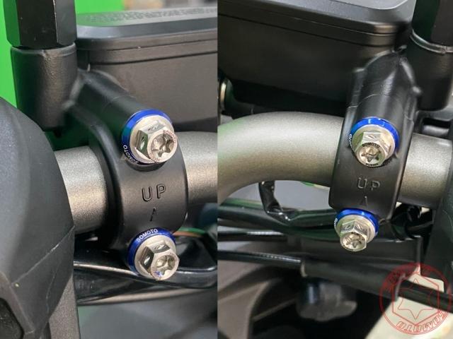 KRV白鐵螺絲鍍鈦螺絲